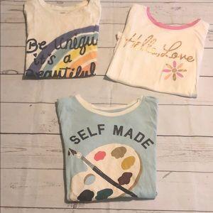 Old Navy girls tshirt bundle